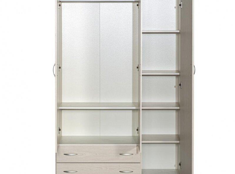 ארון דגם 607 - 3 דלתות + 2 מגירות