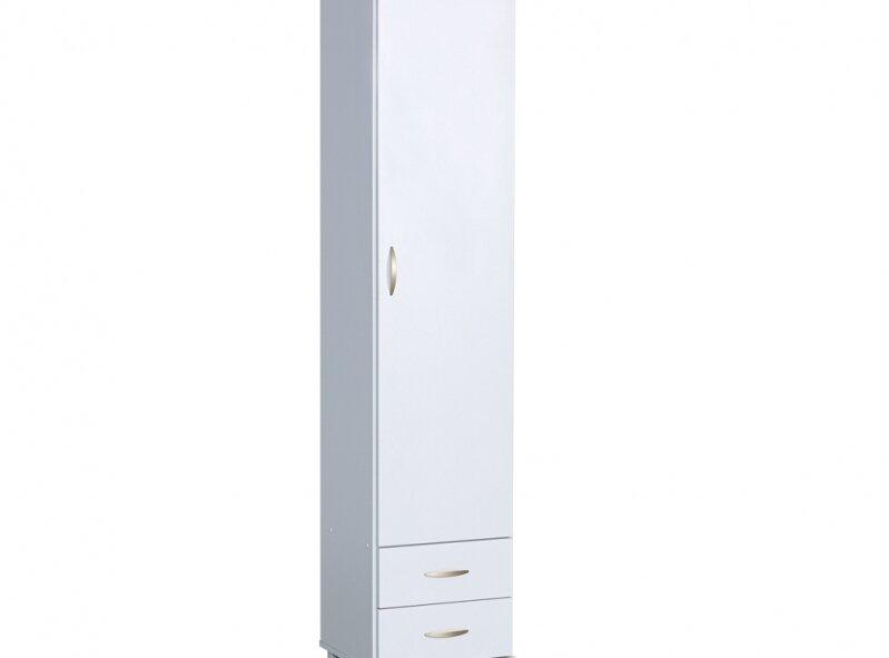 ארון דגם 701 - ארון דלת אחת + 2 מגירות