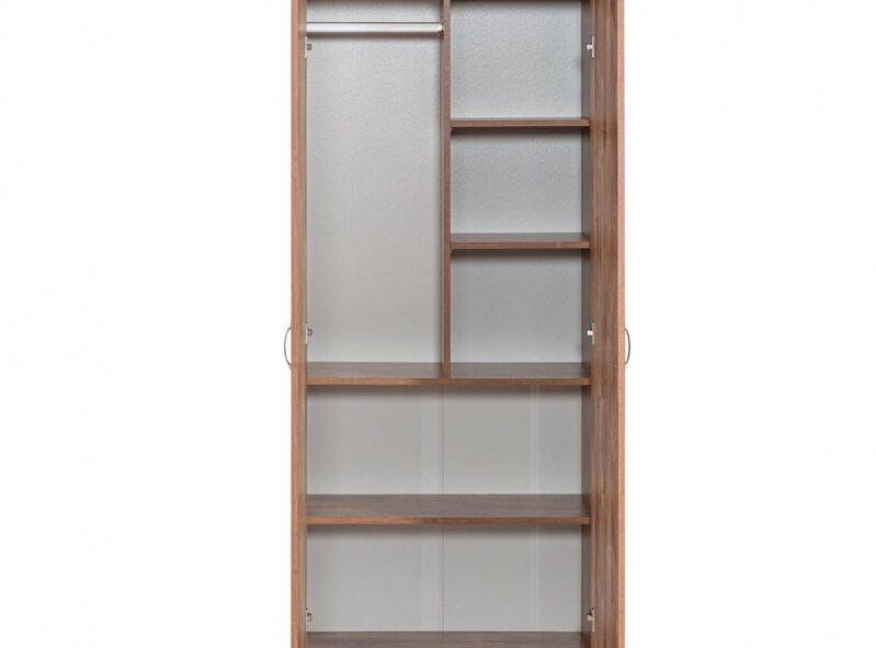 ארון דגם 702 - 2 דלתות, מדפים ותליה