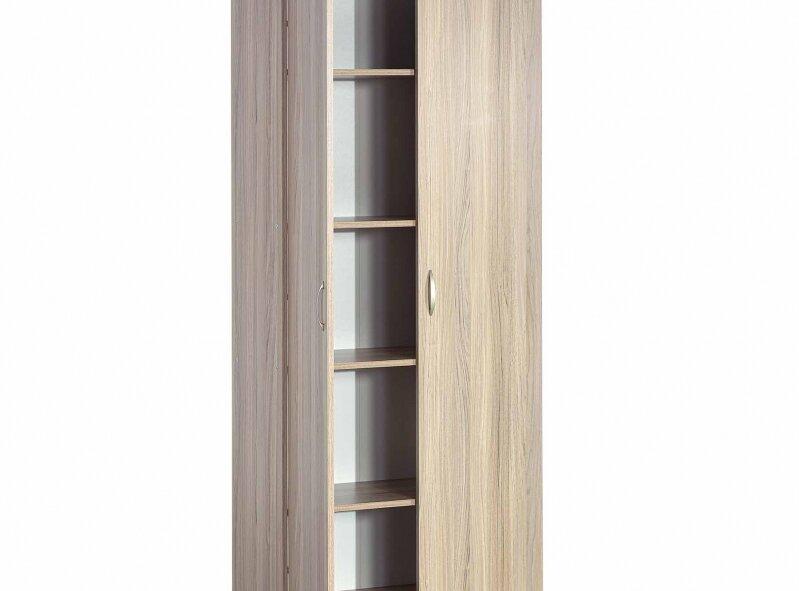 ארון דגם 703 - 2 דלתות, מרובה מדפים