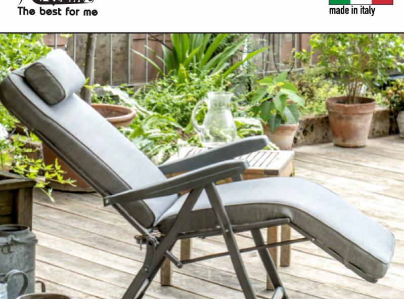כיסא נוח מתכוונן דגם ואלרי