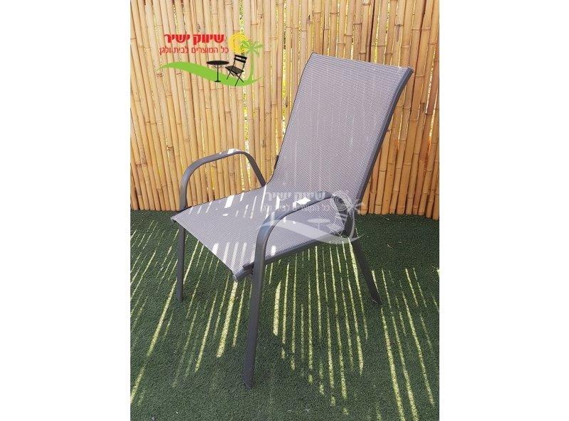 4 כסא מתכת דגם אדריאן