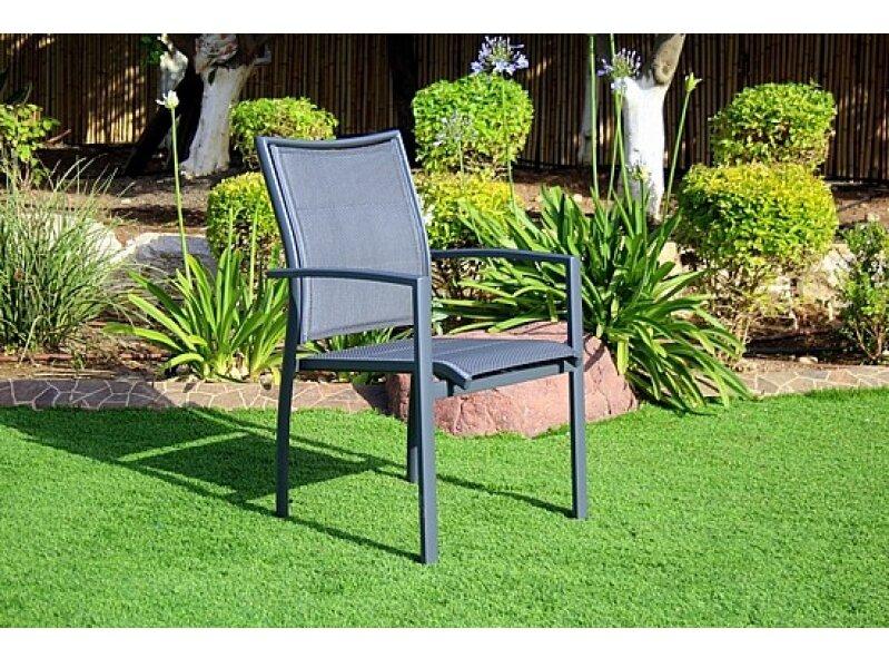 כסא זוהר אפור אפור