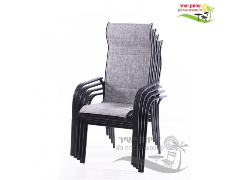 כסא ניצן אפור 102