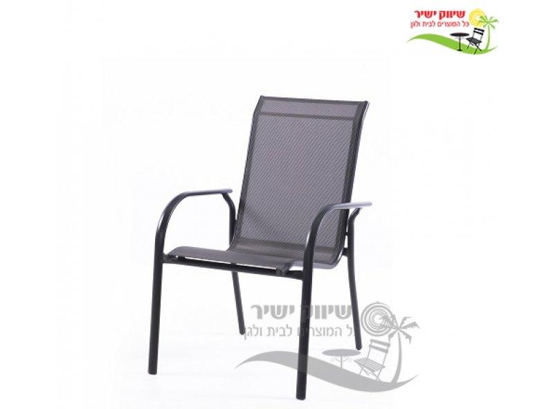 4 כסא אלומיניום דגם שחף