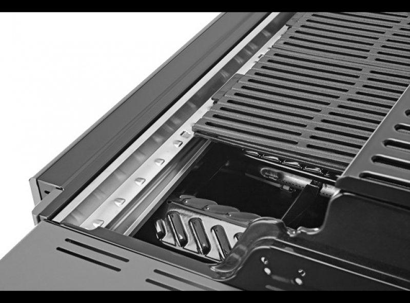 גריל גז מטבח + כיור דגם רבולושן 3 שחור