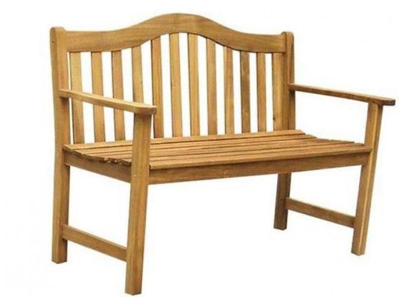 ספסל ישיבה זוגי מעץ דגם קורל