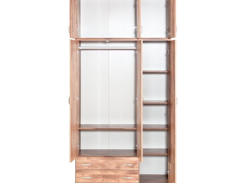 ארון דגם 607E - ארון 3 דלתות + ארון עליון