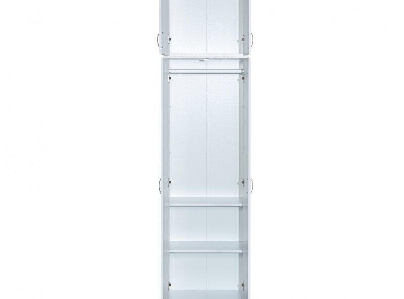ארון דגם 602E - משולב תלייה + ארון עליון