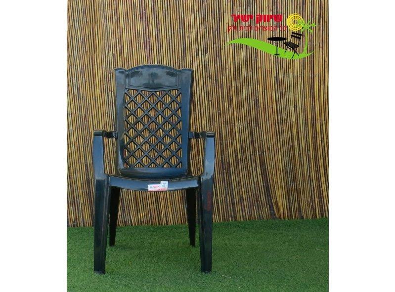6 כסא לירון כתר פלסטיק
