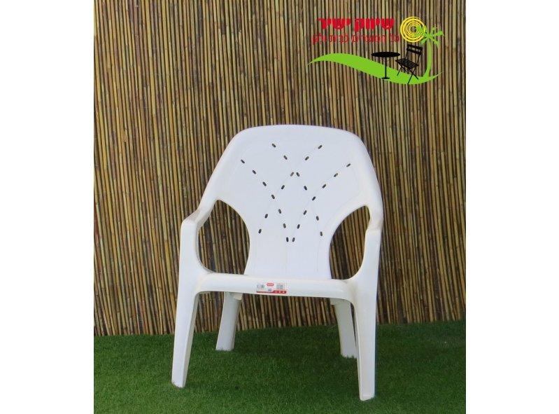 6 כסא קרן כתר פלסטיק