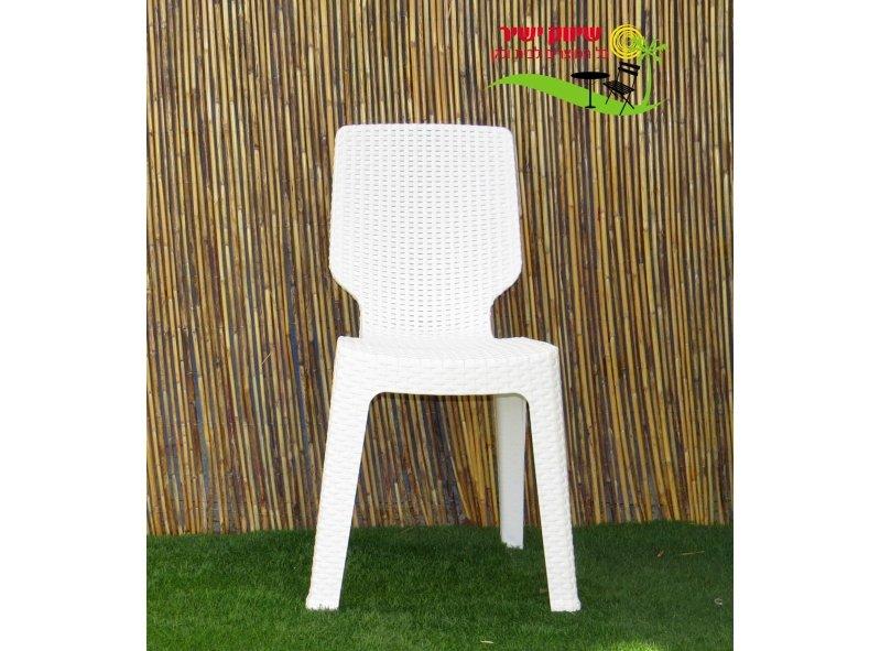 6 כסא טי צ'ר כתר פלסטיק