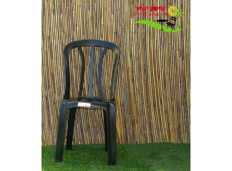 4 כסא קלאב כתר פלסטיק
