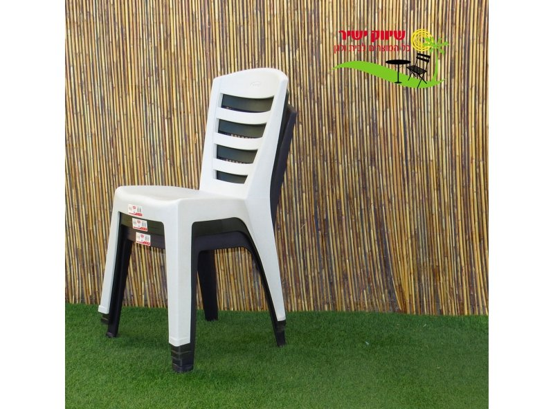 6 כסא שירי כתר פלסטיק