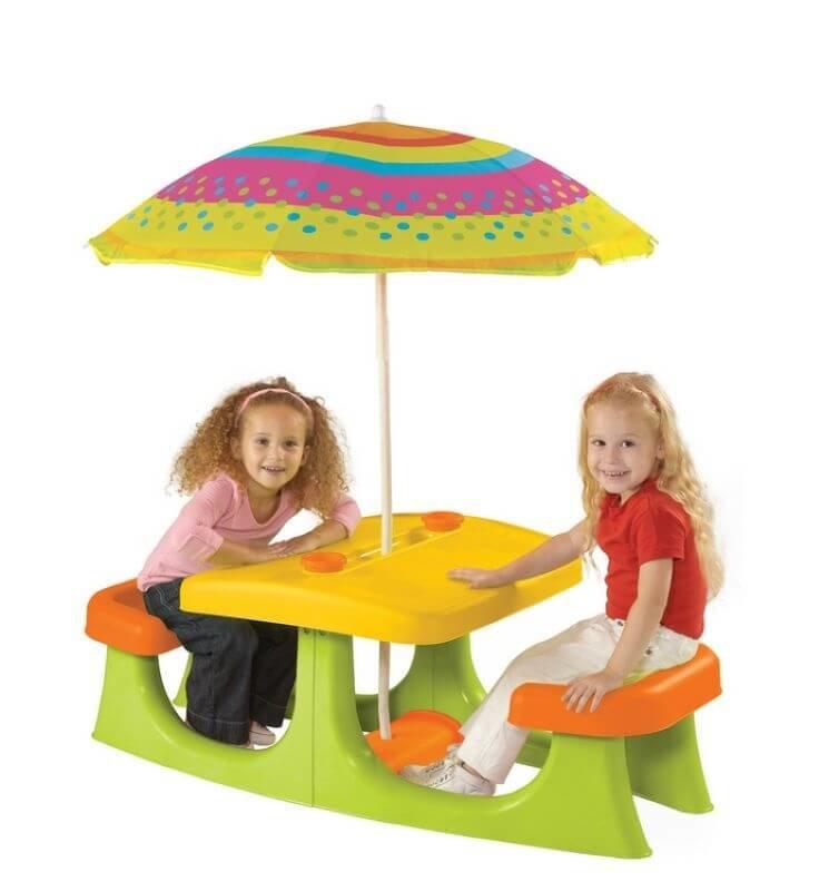 שולחן ילדים דגם פטיו כתר פלסטיק