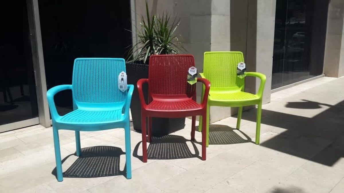 6 כסא דגם פרדייז כתר פלסטיק