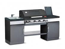 מטבח דיסקברי 4 שחור