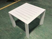 שולחן צד 42 42 לבן