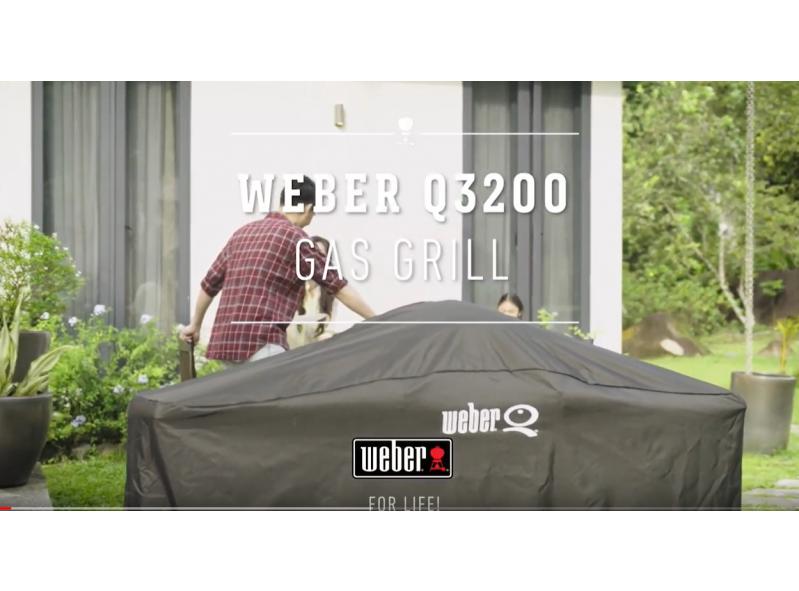 גריל גז דגם Weber Q3200 שחור