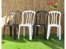 6 כסא קלאב כתר פלסטיק